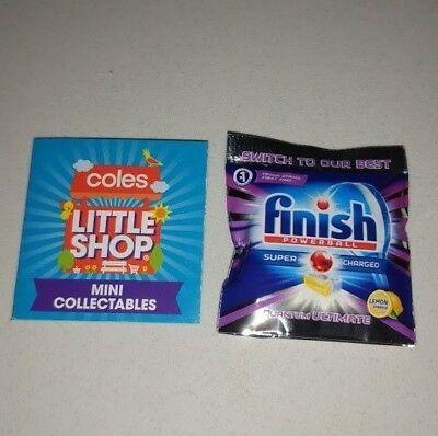 Coles Little Shop - Finish Powerball Tablets Mini Collectable Toy Rare NEW