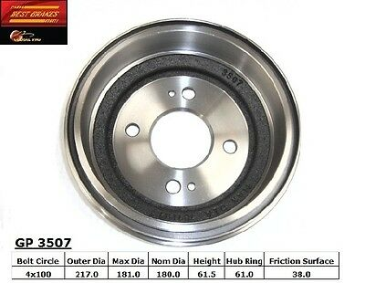 Best Brakes GP3507 Rear Brake Drum
