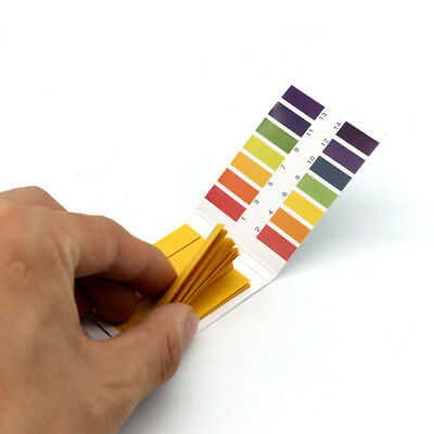 Universal 80 Strips Litmus pH 1 to 14 Test Paper Strips Tester Indicator IN UK