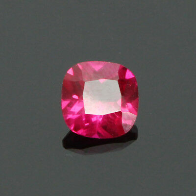 1 Pcs 5 MM RUBY SQUARE CUSHION CUT NATURAL GEMSTONE AAA For Jewelry Ring/Pendant