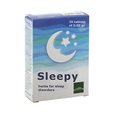 SLEEPING PILLS NATURAL HERBS 30 tablets of 0.55gr. insomnia. quickly fall asleep