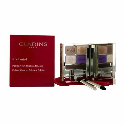 Clarins Enchanted Colour Quartet + Liner Palette 4.9G