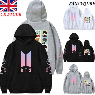 UK STOCK UNISEX BTS KPOP Bangtan LOVE YOURSELF JUMPER SWEATER SUGA JIMIN Hoodie