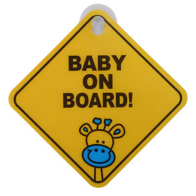 1Pce Baby On Car Sticker Decals Safety Signs Baby on Board for Cars Waterproof