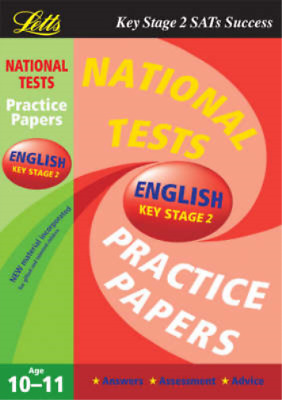 National Test Practice Papers 2003: English Key stage 2, Jenny Bates, Used; Good