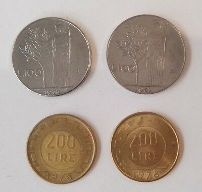 4 Italy Coins (#1)