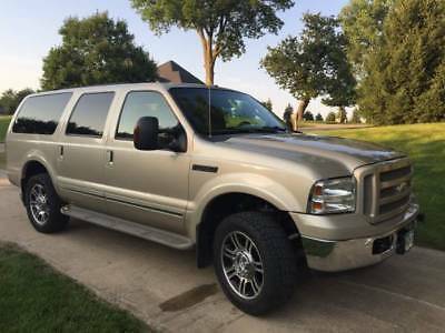 2005 Ford Excursion Limited 2005 Ford Excusion Limited Diesel 6.0 Fresh Overhaul 4WD