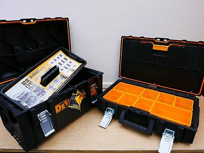 Dewalt Tough System Cases Ds150 1 70 321 & Ds300 1 70 322  Storage Boxes