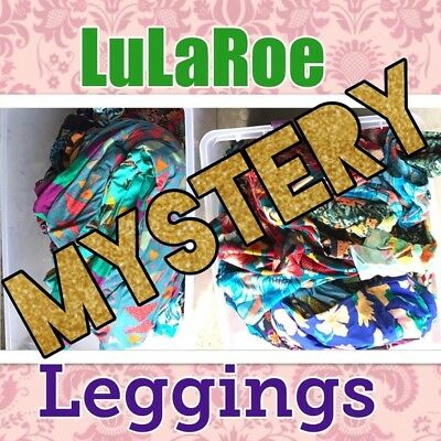 Lularoe Mystery Leggings  OS one size S/M L/XL Kids Small Large NEW