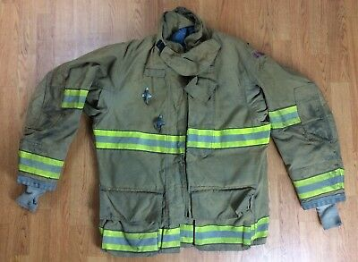 Globe GXtreme Fire Fighter Bunker Turnout Jacket w/ DRD 46 Chest x 32 Length '07