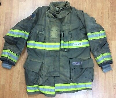 Globe G-Xtreme Fire Fighter Jacket Turnout Coat w/ DRD 42 x 35 '14