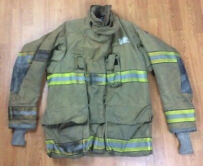 Globe G-Xtreme Fire Fighter Jacket Turnout Coat 46 x 35 '05