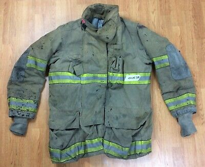 Globe G-Xtreme Fire Fighter Jacket Turnout Coat w/ DRD 44 x 35 '08