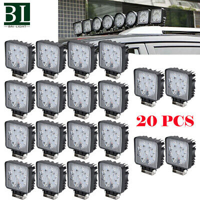 20X LED Work Light Spot Light OffRoad ATV SUV Boat Jeep Truck Backup Reverse DRL