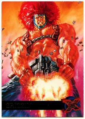 Grizzly #22 Fleer Ultra X-Men 1995 Trade Card (C1397A)