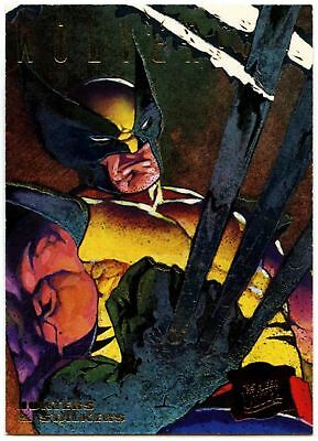 Wolverine #7 of 9 X-Men Hunters And Stalkers 1995 Fleer Ultra Chase Card (C1404)