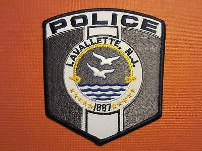 Collectible New Jersey Police Patch Lavalette New