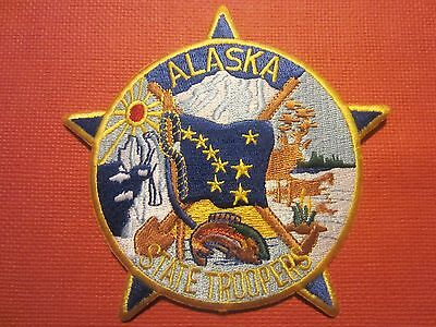 Collectible Alaska  State Trooper Patch New