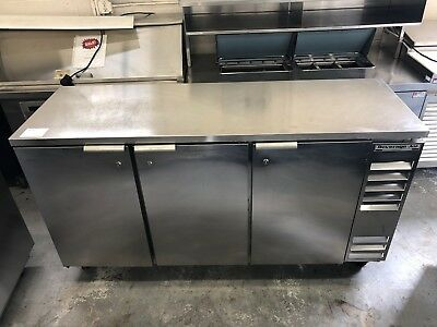 """Beverage-Air BB72 - 72"""" Back Bar Cooler - Stainless Finish - 2 Avail. -Refurb."""
