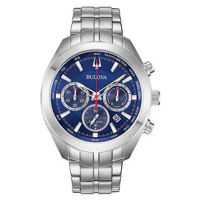 Bulova High Frequency Sport Stainless Steel Men's Watch
