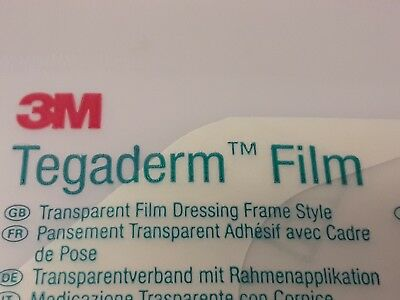 Tegaderm Film,Medical,Dressing,Wound,Skin,New,Sealed,Sterile,Plaster,3M,Tattoo,4