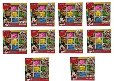 (Lot of 10) New! Mickey Mouse Clubhouse Pixel Art Bead Set Free Shipping