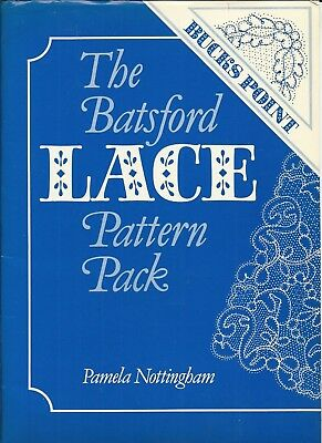 BATSFORD LACE PATTERN PACK - BUCKS POINT - 77 Prickings on 32 work cards