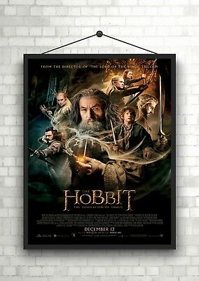 The Hobbit Desolation Of Classic Large Movie Poster Print A0 A1 A2 A3 A4 Maxi