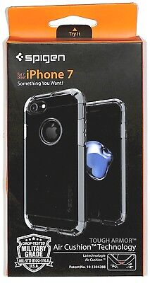 Spigen Tough Armor case for iPhone 7, 8 Sleek Dual Layer Protection
