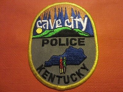 Collectible Kentucky Police Patch, Cave City. New