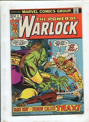 Warlock #4 - The Demon Called Trax! - (6.0) 1973