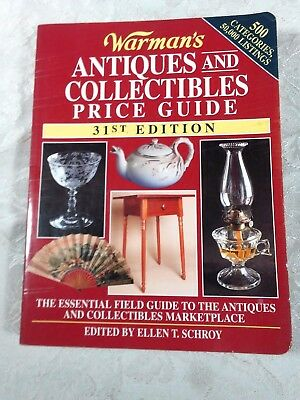 WARMAN'S ANTIQUES AND COLLECTIBLES PRICE GUIDE, 31ST Edition #AU309