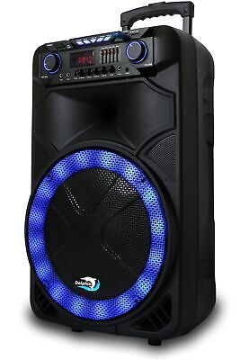 Dolphin 1500RBT Rechargeable Bluetooth Tailgate Speaker with Wireless Microphone