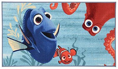 Disney Actionline Dory Tapis, Matériau synthétique, Multicolore, 80 x 140 x 0...