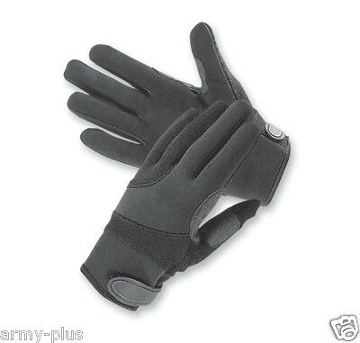 Touch Screen Tactical Kevlar Lined Cut Resistant Police Duty Search Gloves