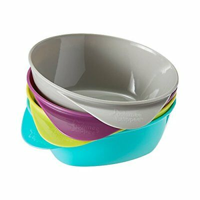 Tommee Tippee Explora Easy Scoop Feeding Bowls (4-pack) (Colours May Vary)