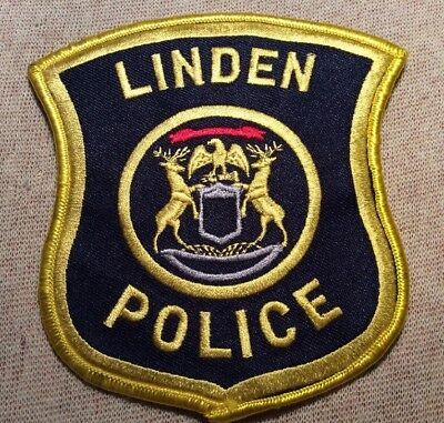 MI Linden Michigan Police Patch