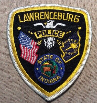 IN Lawrenceburg Indiana Police Patch