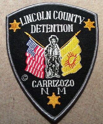 NM Lincoln County New Mexico Detention Patch
