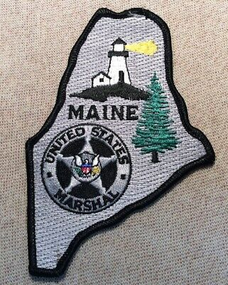 US United States Maine Marshal Patch
