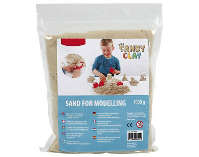 1kg Natural Remoldable Sandy Clay | Modelling Clay for Crafts