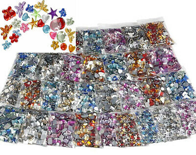 SALE - Mega Bulk Buy 11,520 Assorted Crafts Rhinestones or Jewels