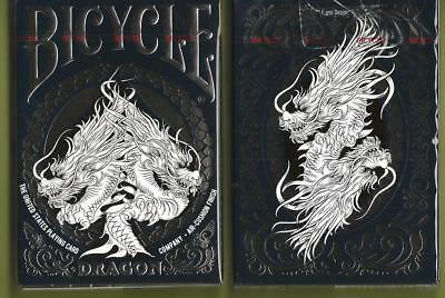 1 DECK Bicycle Midnight Blue Dragon playing cards FREE USA SHIPPING