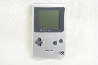 JUNK Game Boy Light Console SILVER MGB-101 Nintendo REF/8278 Not working gb