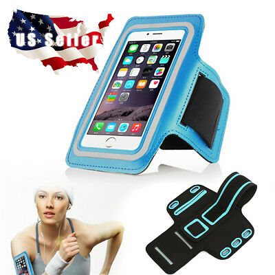 For iPhone Sport Running Armband Jogging Running Arm Band Pouch Holder Key Bag