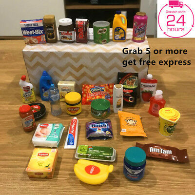 Coles Little Shop 1 & 2 Mini Collectables - Full Set or Individual Sales!