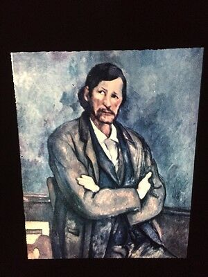 "Paul Cezanne ""Clockmaker"" French Post-impressionism 35mm Art Slide"