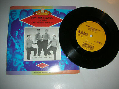 Danny & The Juniors - At The Hop / Rock & Roll Is Here To Stay...in Pic.sleeve
