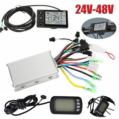 24V/36V/48V E-Bike LCD Display Panel Electric Bicycle Brushless Controller CO