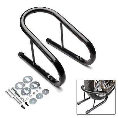 Motorcycle Wheel Chock Motorbike Bike Front Stand Scooter Stay Paddock Garage